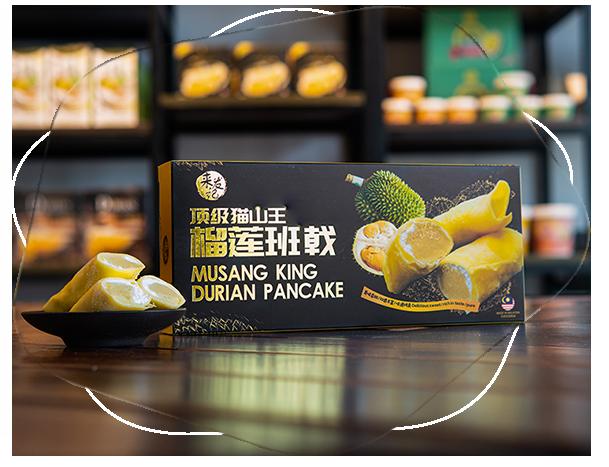 Musang King Durian Pancake